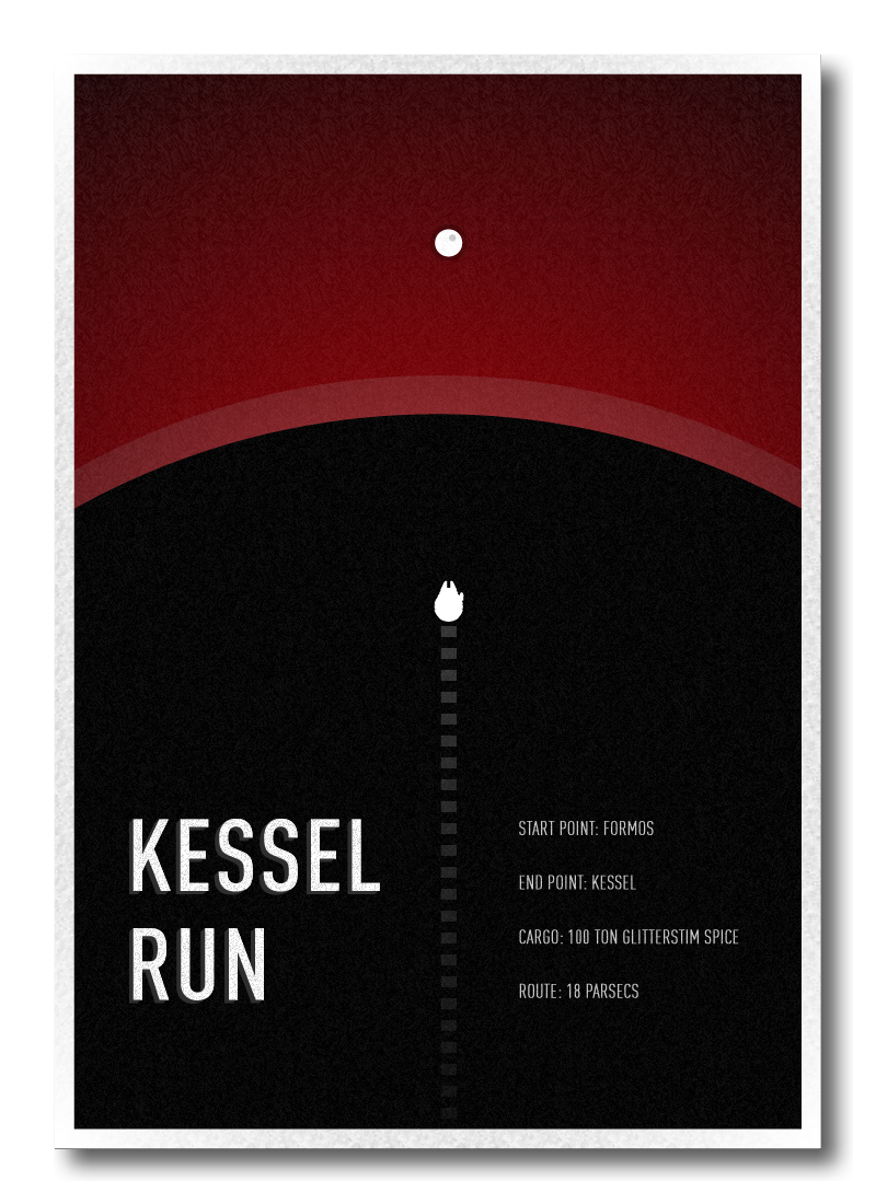 Kessel Run by Daniel Feldt
